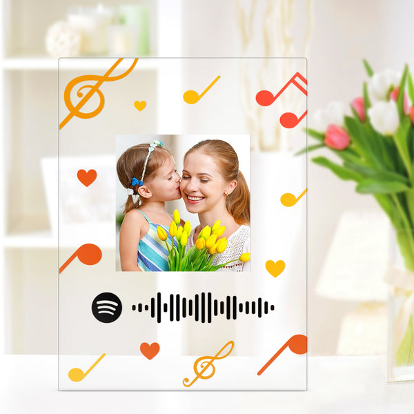 Spotify Plaque Custom Music Plaque Spotify Song Display Gift Wedding Birthday Gift for Mom