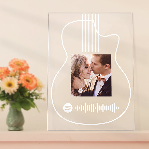 Personalised Spotify Plaque Custom Music Plaque Wedding Birthday Gift Anniversary Gift
