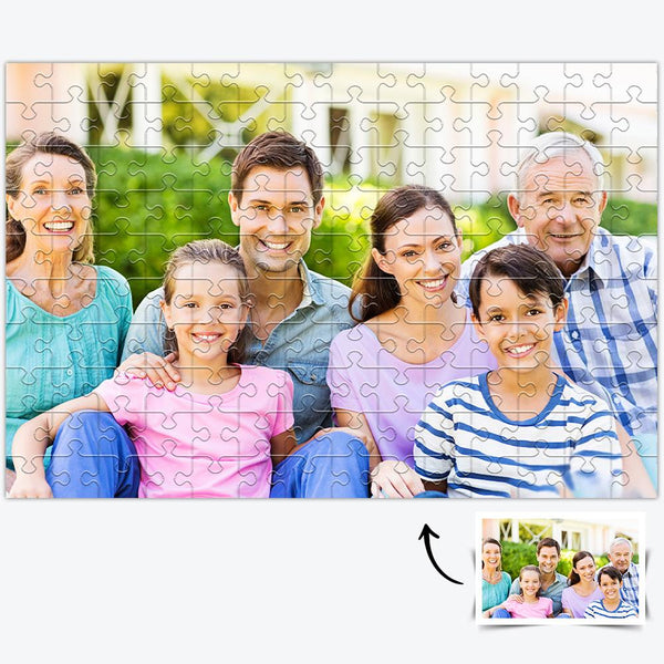 Custom Commemorate Photo Jigsaw Puzzle - 35/150/300/500/1000 Pieces