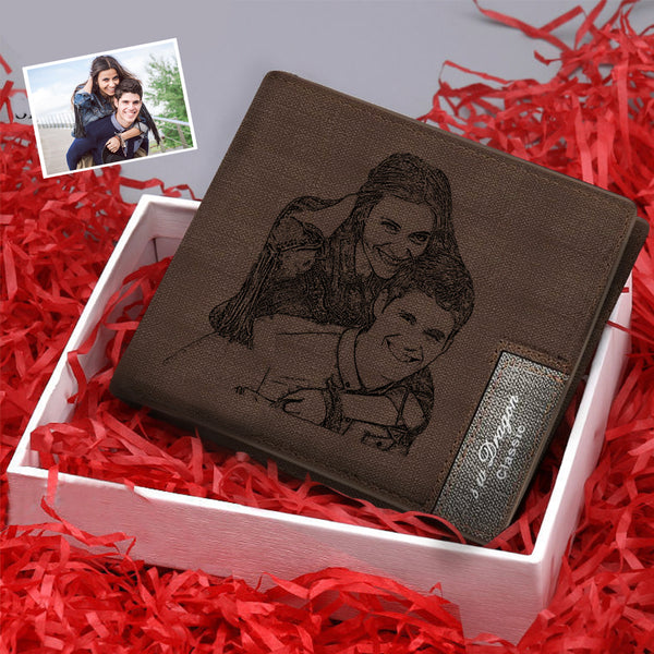 Christmas Gifts - Custom Short Photo Wallet