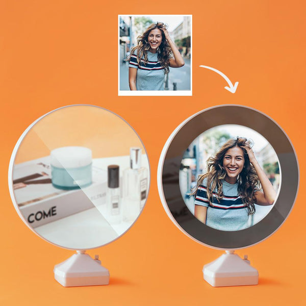 Custom Photo Magic Mirror and Night Light-For Friend
