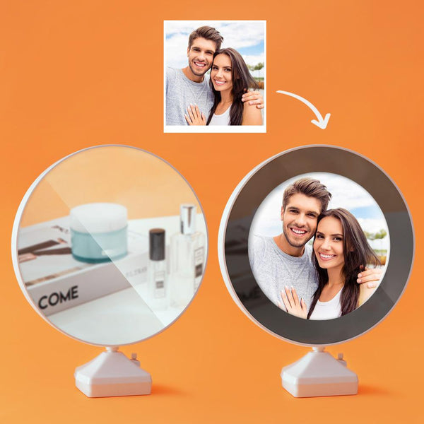 Custom Photo Magic Mirror and Night Light-For Valentine's Day