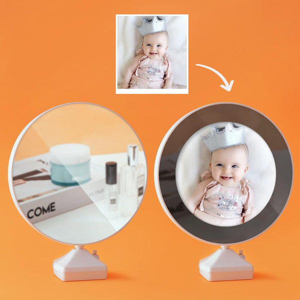 Custom Photo Magic Mirror and Night Light-For Baby