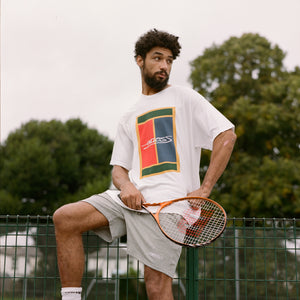 ENDLESS - COURT TEE WHITE