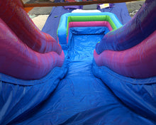 Load image into Gallery viewer, 18'H Fun House Slide Wet n Dry