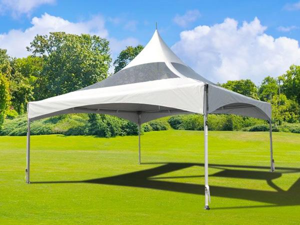 Marquee Tent 20'x20' w/ Clear Top