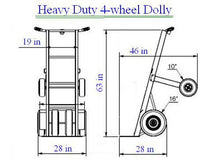 Load image into Gallery viewer, Heavy Duty Dolly