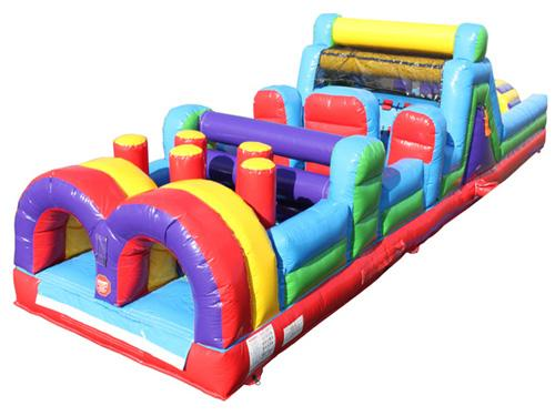 85'L Obstacle Course With Pool