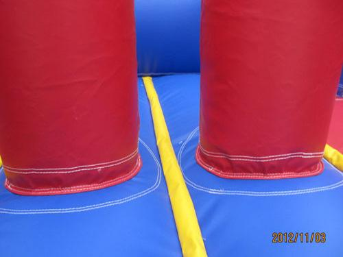 24'L Red Obstacle Course