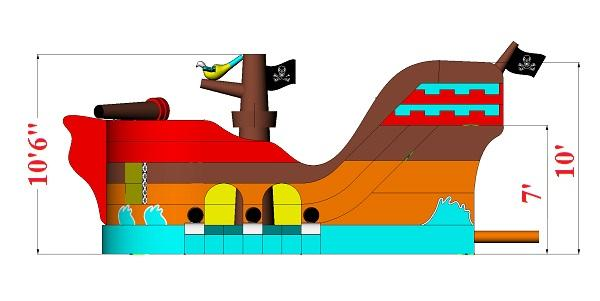Pirate Ship (Dry)