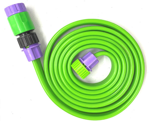 A Pack of 4 Sprinkler Hoses 8'L