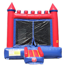 Load image into Gallery viewer, Red n Blue Castle Bouncer