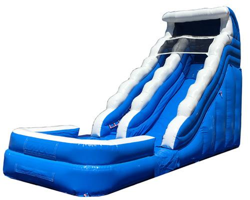 18'H Blue Wave Slide Wet n Dry