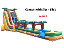 Load image into Gallery viewer, 22'H 2-Lane Volcano Slide W n D