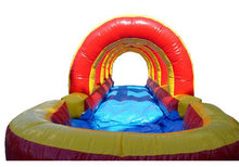 Load image into Gallery viewer, 20'H Rainbow Screamer Slide w/ Slip n Slide