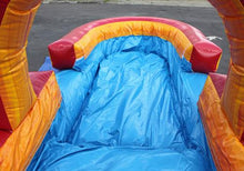 Load image into Gallery viewer, 22'H Volcano Screamer Slide w/ Slip n Slide