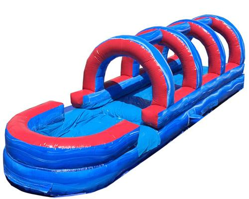 18'H Tsunami Screamer Slide w/ Slip n Slide