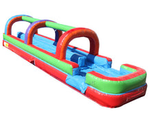 Load image into Gallery viewer, Dual Lane Retro Slip n Slide w/ Pool
