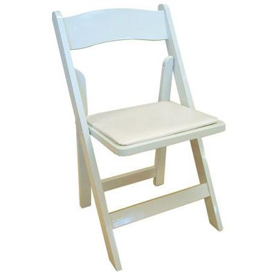4 Plastic Resin Chairs - White