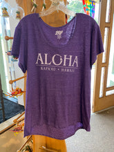Load image into Gallery viewer, Womens Aloha T- shirt