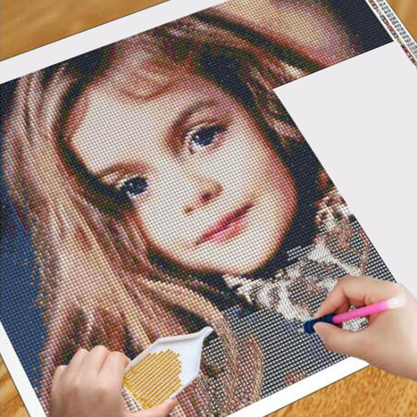 5D Diy Custom Photo Diamond Painting(Hot Sale)