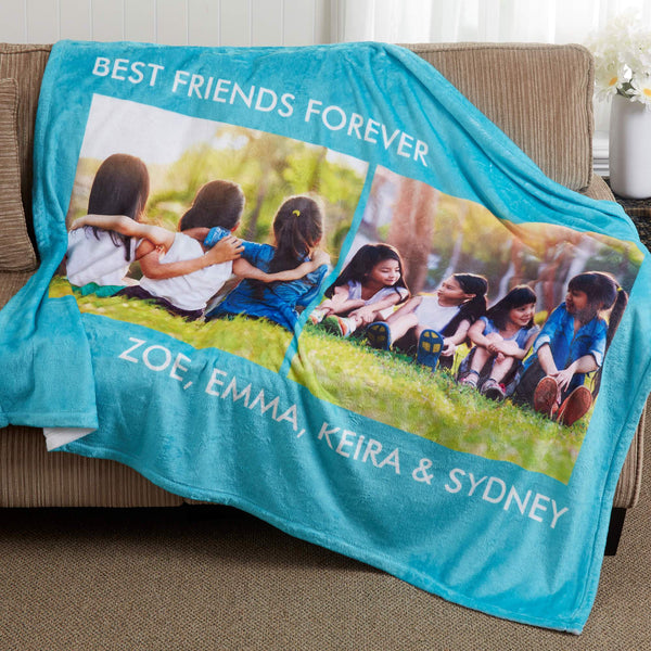 Custom Blankets Personalized Photo Blankets Custom Collage Blankets With Photos