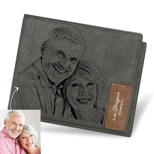Custom Biffold Short Photo Wallet