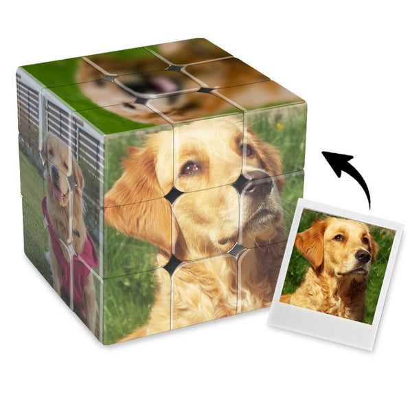Custom Multi Photo Rubik's Cube - For Lovely Pet