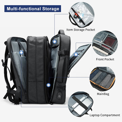 Expandable Travel Backpack