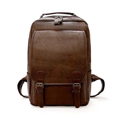 Leather Travel Vintage Backpack