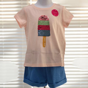 Popsicle Sequin Shirt