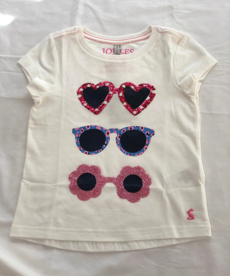 Sunglasses Shirt with sequins
