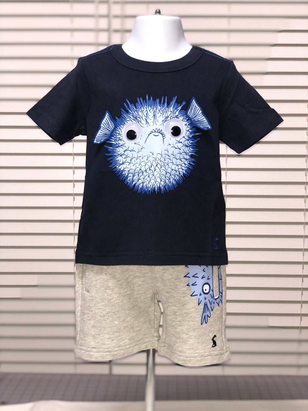 Puffer Fish Short Sleeve Shirt