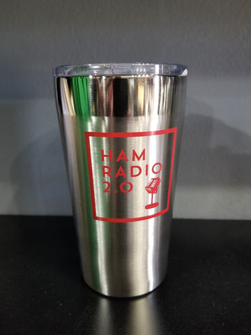 Stainless Traveler Coffee Tumbler - Ham Radio 2.0