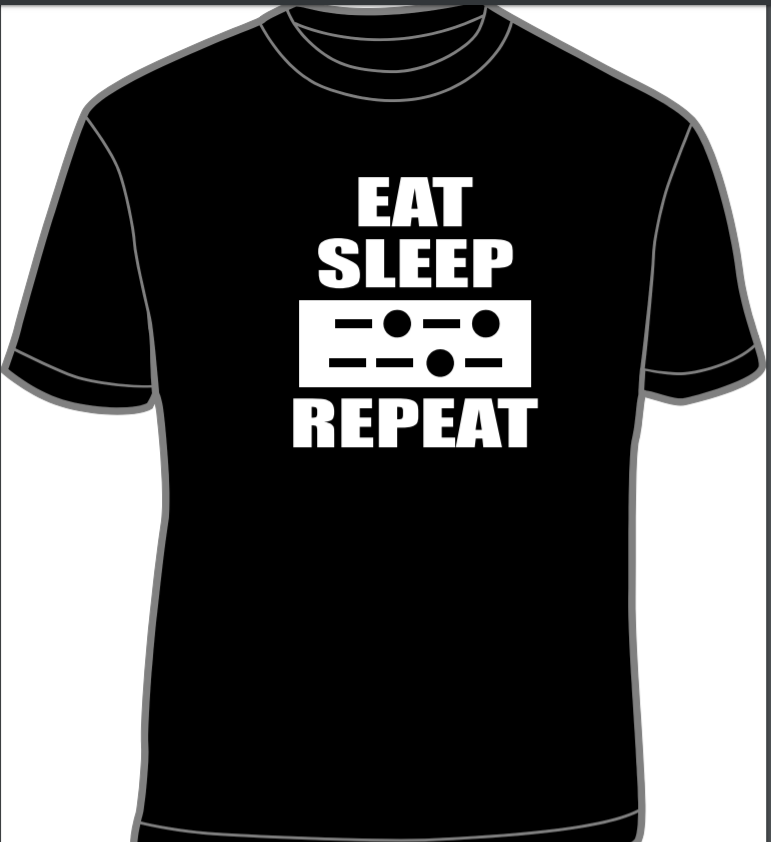 Eat, Sleep, CQ, Repeat T-shirt *SPECIAL ORDER*