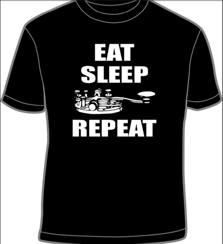 Eat, Sleep, (CW Paddle), Repeat T-shirt *SPECIAL ORDER*