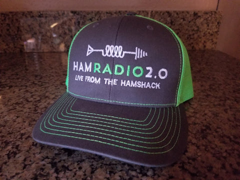 Ham Radio 2.0 Snap-Back Ball Cap, Mesh