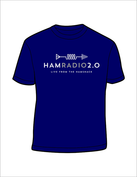 Ham Radio 2.0 Short Sleeve T-shirt - Cotton or Dry Wic