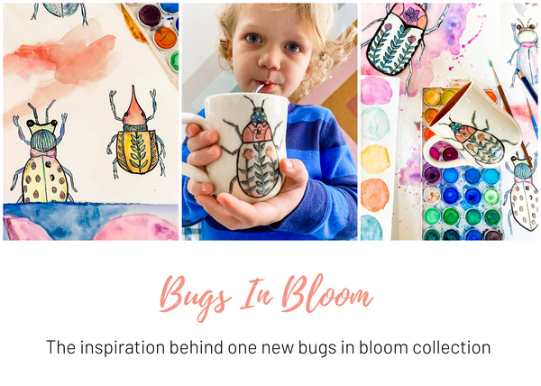 Bugs in Bloom Collection by Emily Keener, This is Happiness Studio