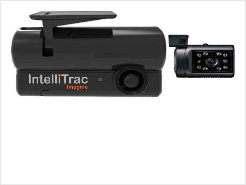 IntelliTrac Dash Cam 2 Channel Interior Driver Facing Camera - IR LED