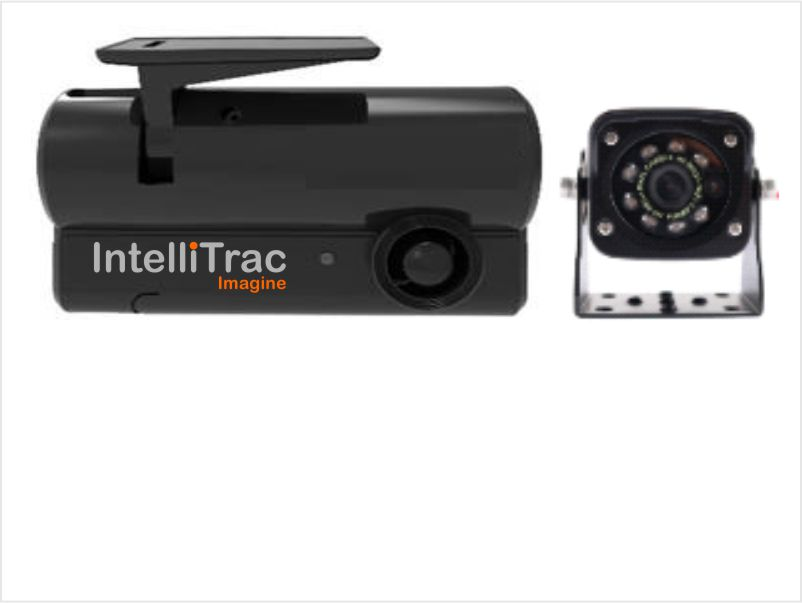IntelliTrac Dash Cam 2 Channel Exterior Rear Camera - IR LED