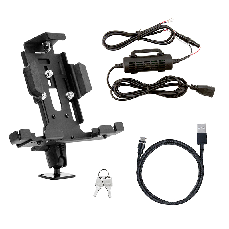 In Vehicle Lockable Tablet Mount & Power Supply  - 7
