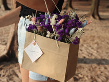 Load image into Gallery viewer, Dried flower in paper bag