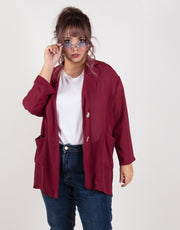 BOSS LADY CHIFFON JACKET