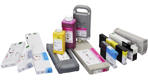 Wide format digital inks for Roland, Mimaki, Durst, Agfa, Mutoh, Epson, Canon and  HP printers