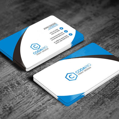 Free design 200/500sheets custom business cards Logo card printing paper calling card, Both Side paper visiting card