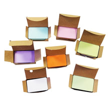 Load image into Gallery viewer, 100 Pcs/lot Kraft Paper Card  blank business cards Message Memo Party Gift Thank You Cards Label Bookmarks Learning Cards