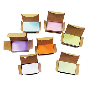 100 Pcs/lot Kraft Paper Card  blank business cards Message Memo Party Gift Thank You Cards Label Bookmarks Learning Cards