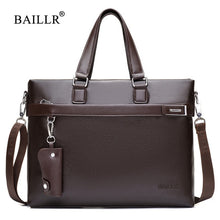 Load image into Gallery viewer, Promotions 2019 New Fashion Bag Men Briefcase PU Leather Men Bags Business Brand Male Briefcases Handbags Wholesale High Quality
