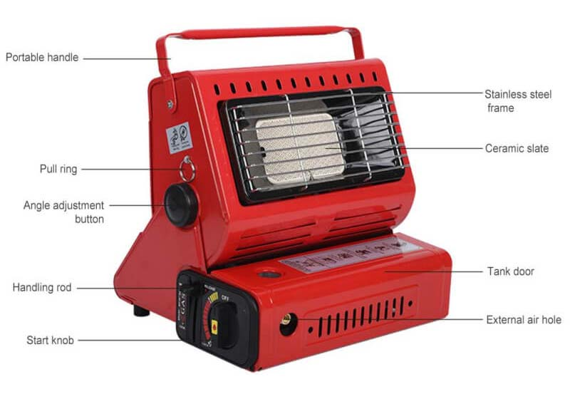 Indoor Gas Heater